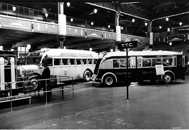 TTC Display In The CNE Automotive Building, 1936