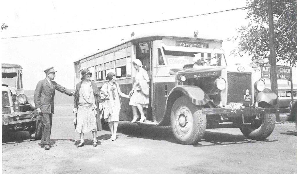 TTC Buses Serving The CNE, August 1930