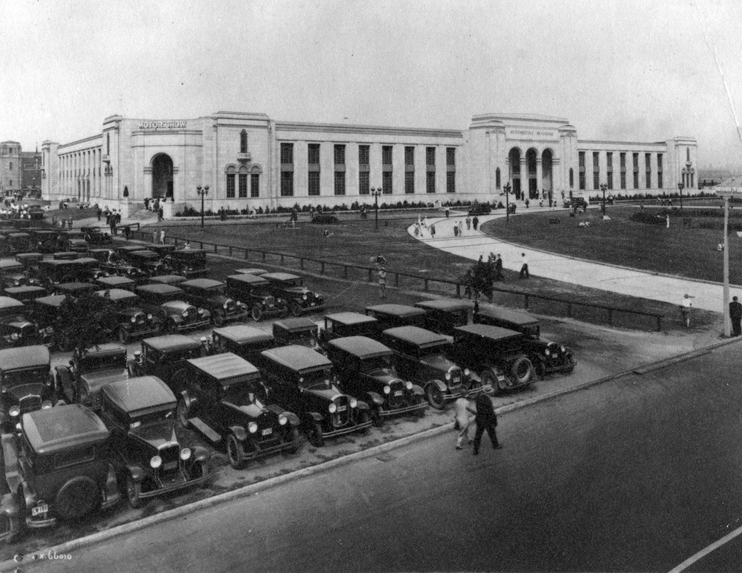 Automotive Building  and  Parking, 1930
