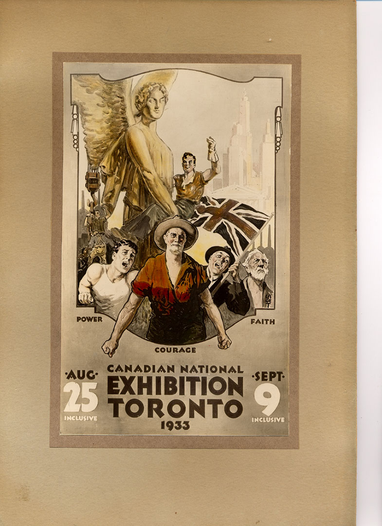 CNE Poster 1933