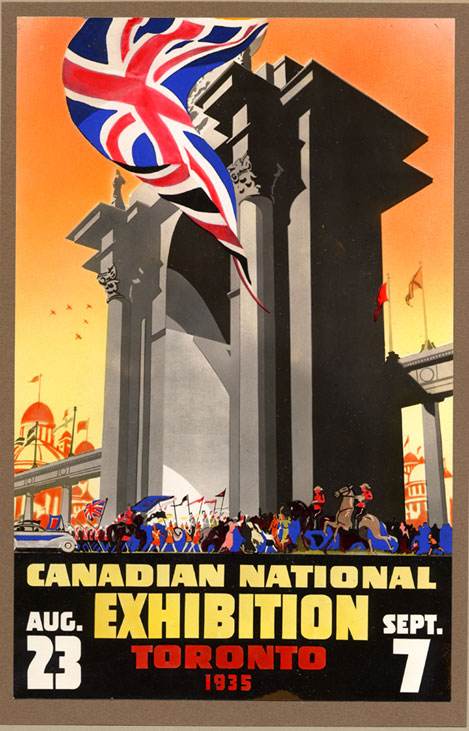 CNE Poster, 1935