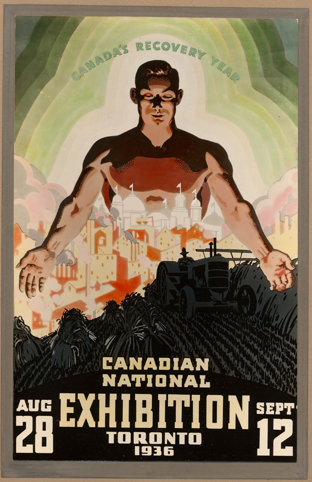 CNE Poster, 1936