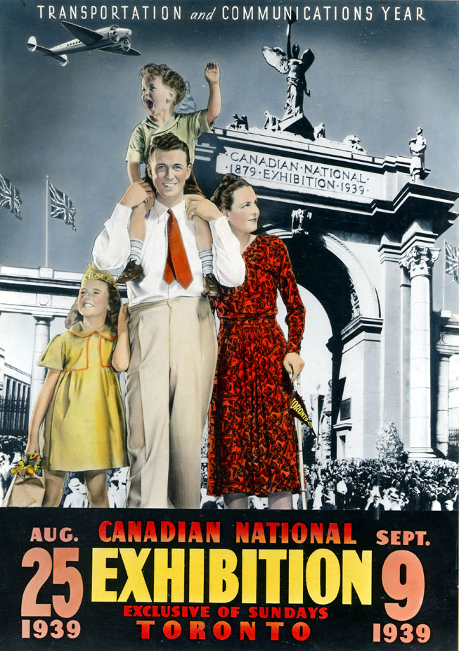 CNE Poster, 1939
