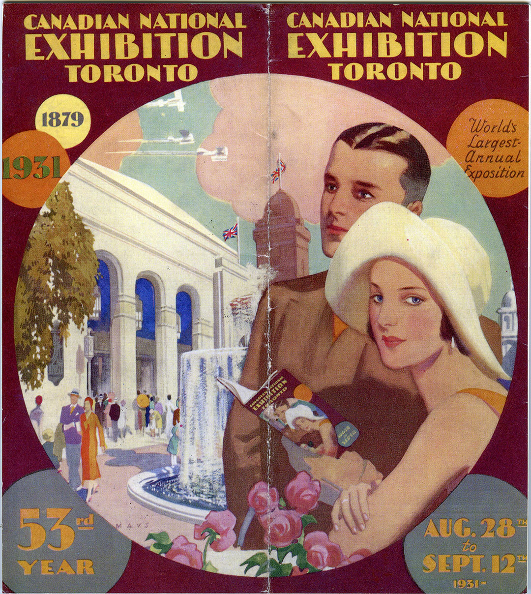 CNE Programme Cover, 1931