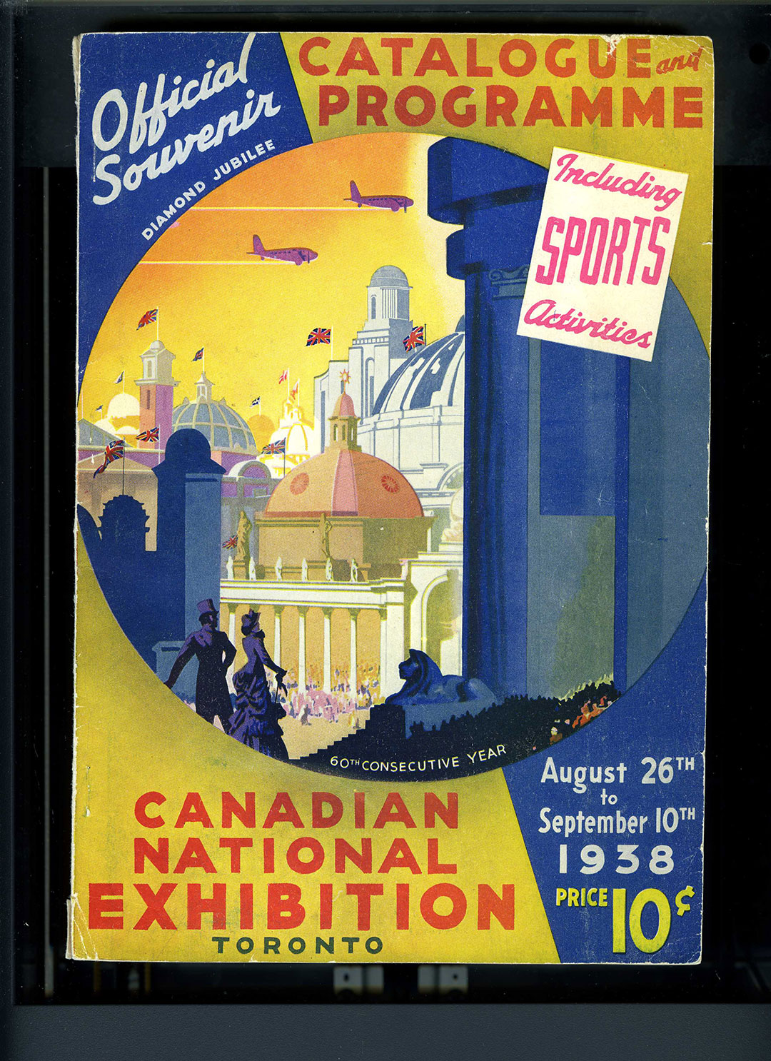 CNE Programme Cover, 1938