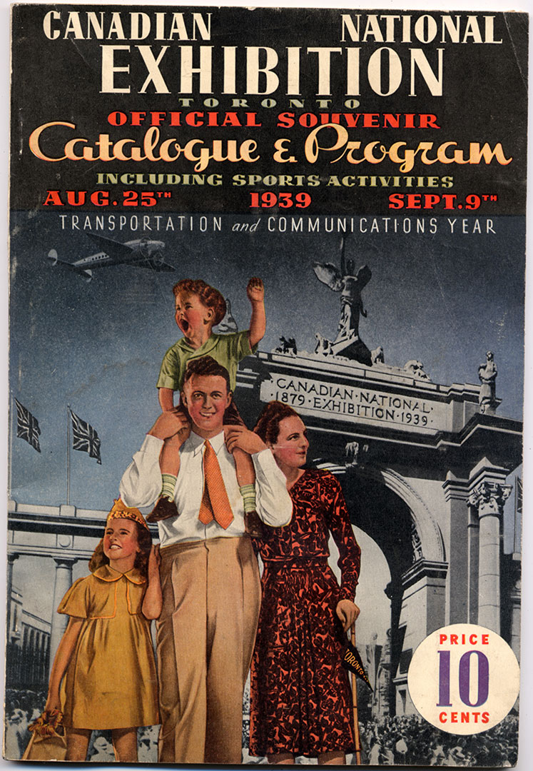 CNE Programme Cover, 1939