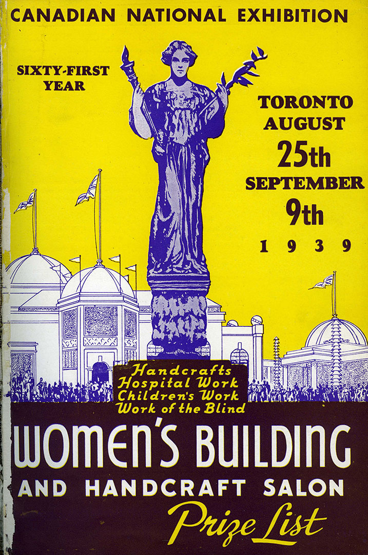 Womens Prize List Cover, 1939
