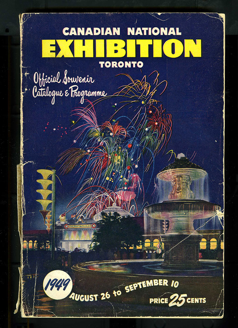 CNE Programme Cover, 1949