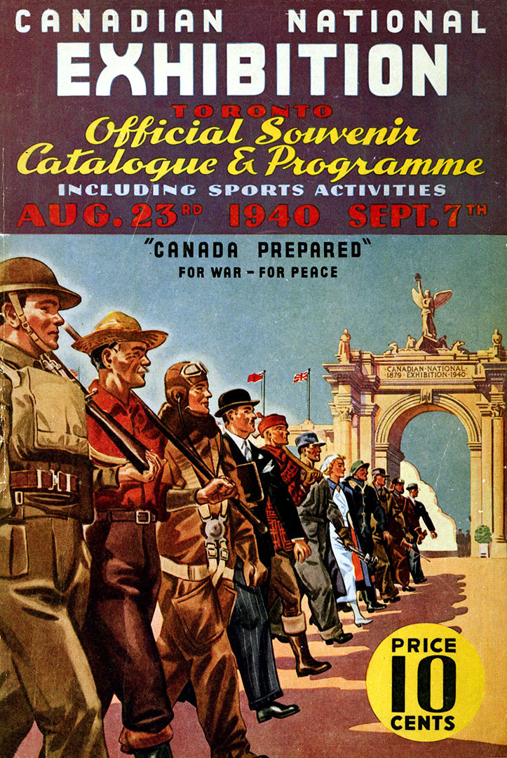 CNE Programme Cover, 1940