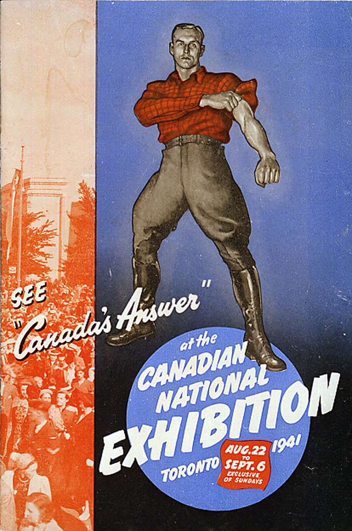 CNE Programme Cover, 1941