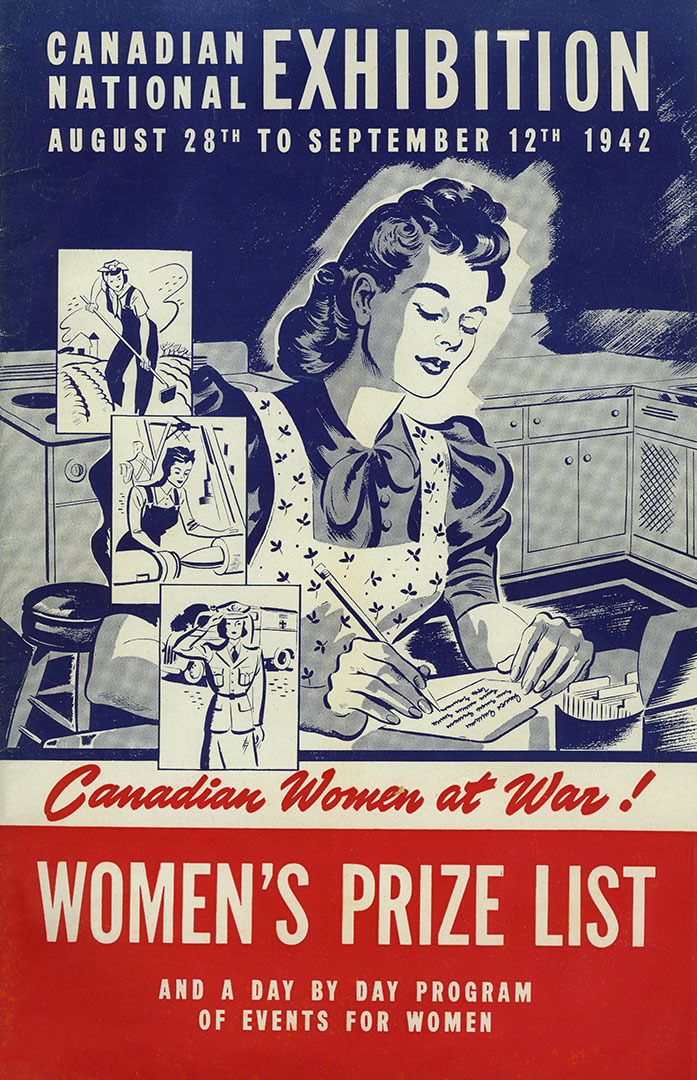 Women's Prize List Cover, 1942