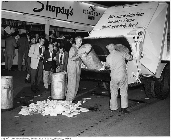 Garbage Removal @ The 1951 CNE