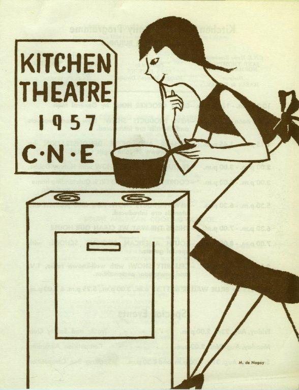 CNE Kitchen Theatre Poster, 1957