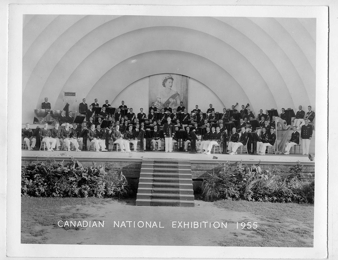 Bandshell Performance, 1955