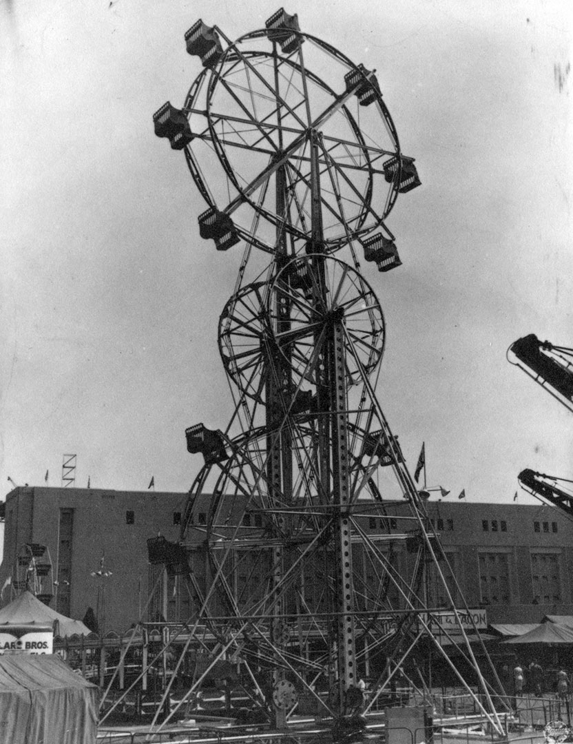 The Double Ferris Wheel, 1950