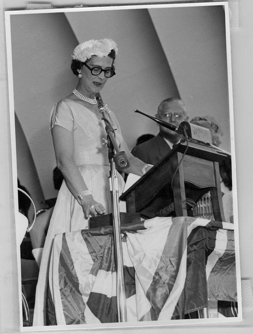 Duchess Of Kent Opening The CNE, 1954