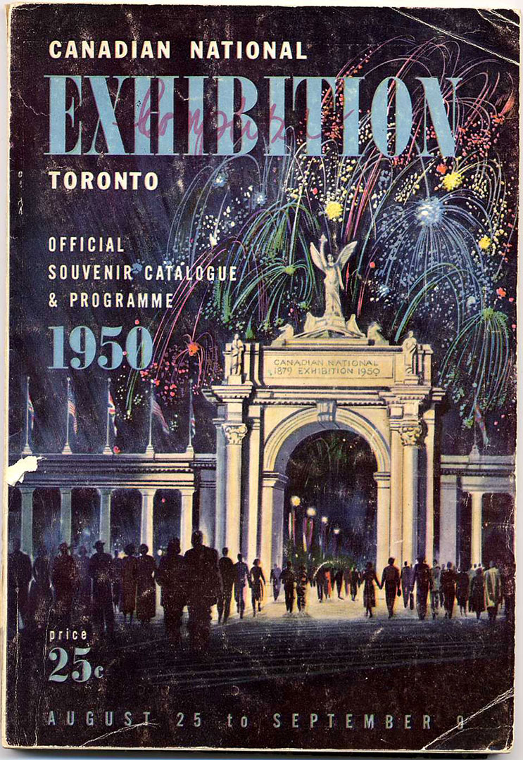 CNE Programme Cover, 1950