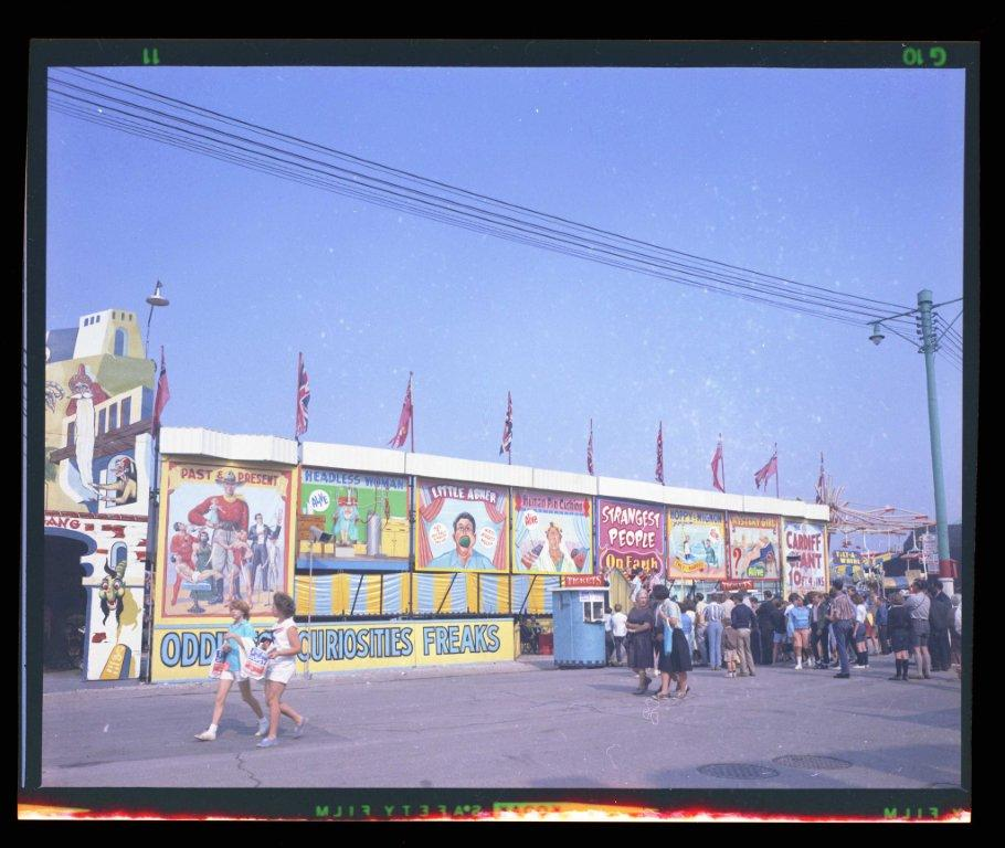 Curiosities  and  Freaks In The Midway, ca. 1960s