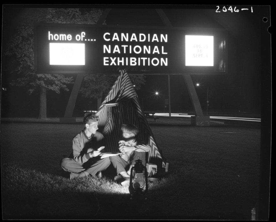 Camping Out @ The CNE, ca. 1960s