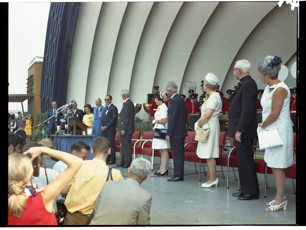 Prime Minister Pierre Trudeau Opening The CNE In 1969