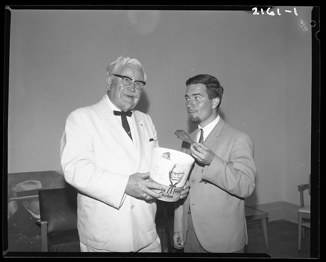 Colonel Sanders At The CNE, August 1965