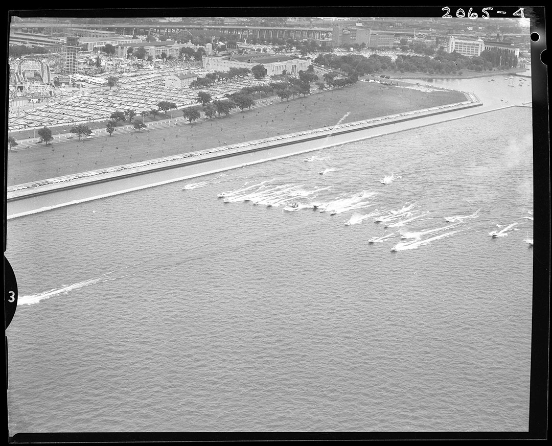 Boat Racing On The CNE Waterfront, circa 1960s