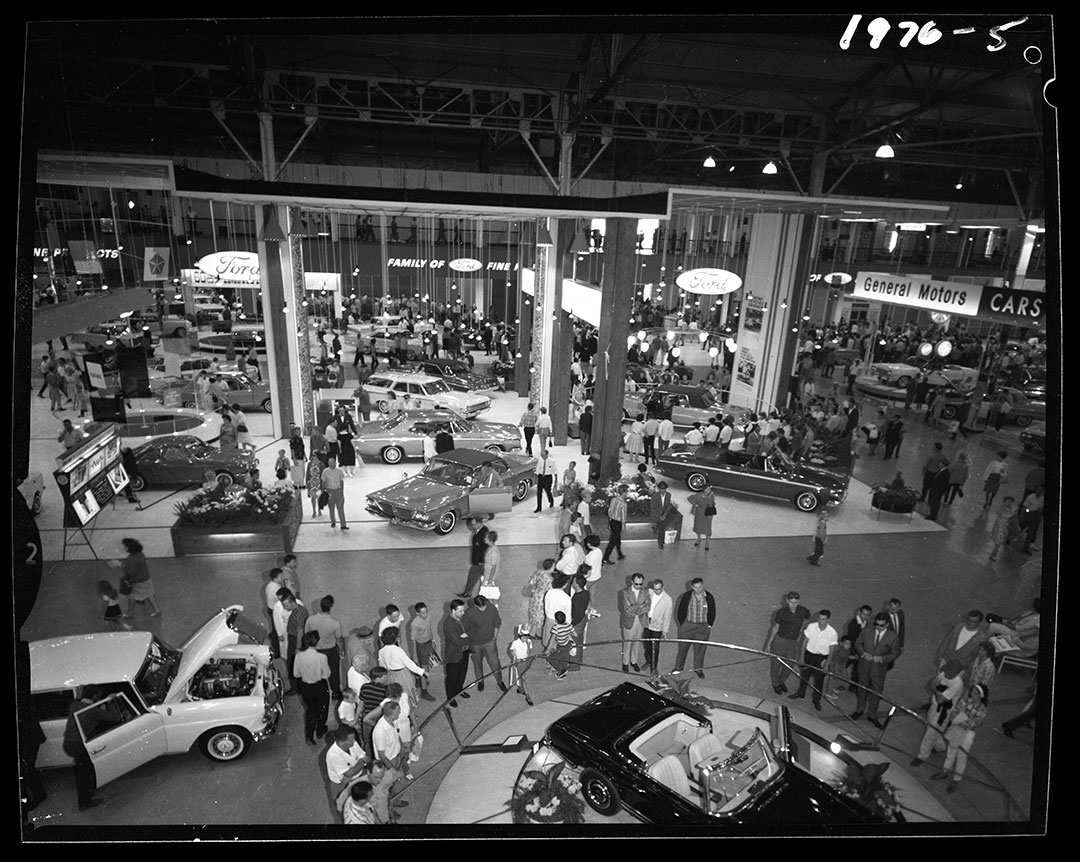 General Motors Car Show At The CNE, 1960s