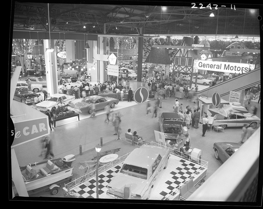 General Motors Car Show Show At The CNE, ca. 1960s