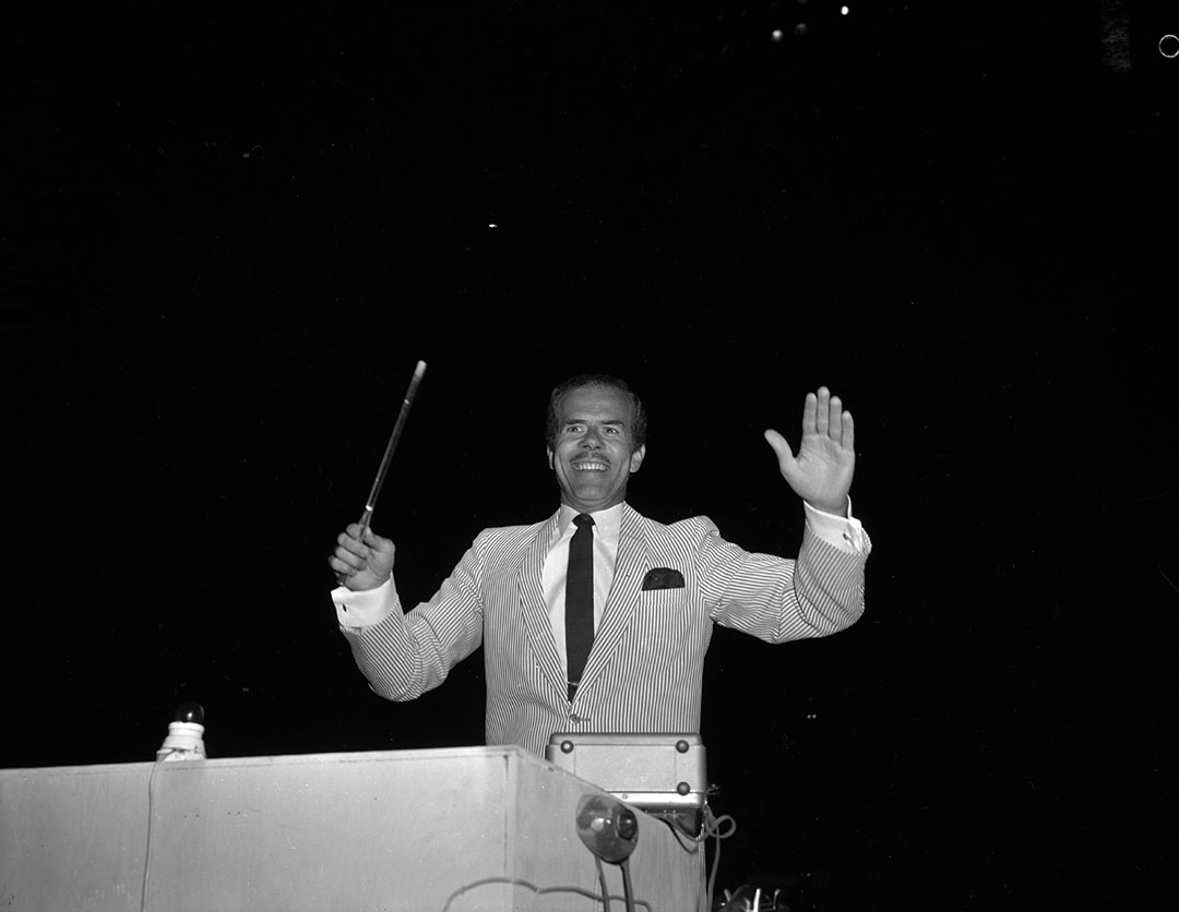 Howard Cable Conducting At The CNE, ca. 1960s