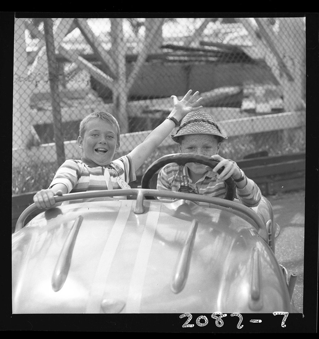 Daredevil Driver  and  Pal, ca. 1960s