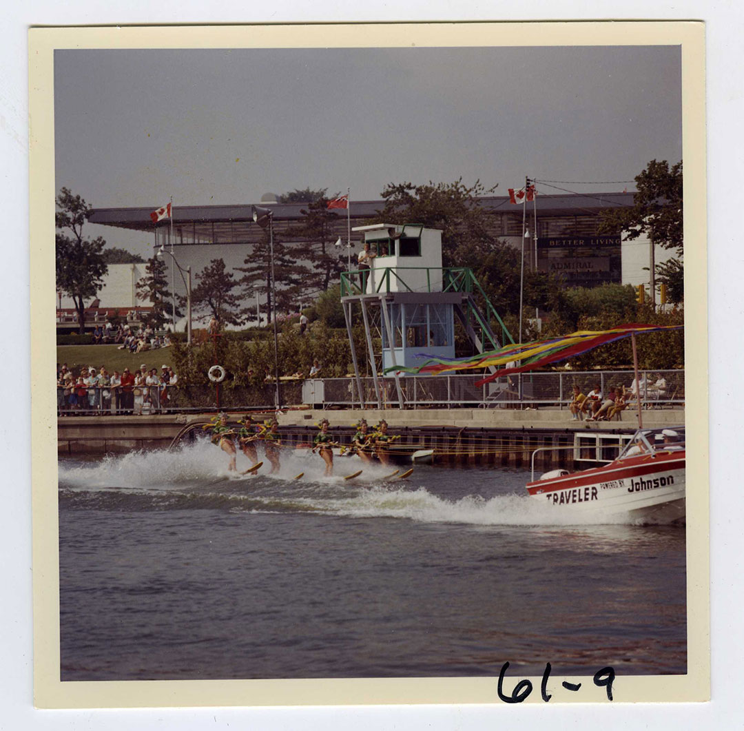 Water Skiing Stunt Show In The 1960's