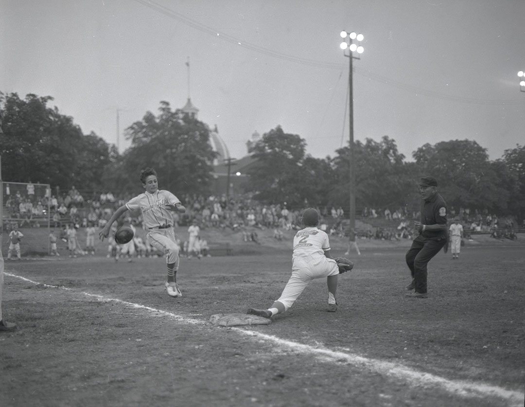 Baseball At The CNE, 1970