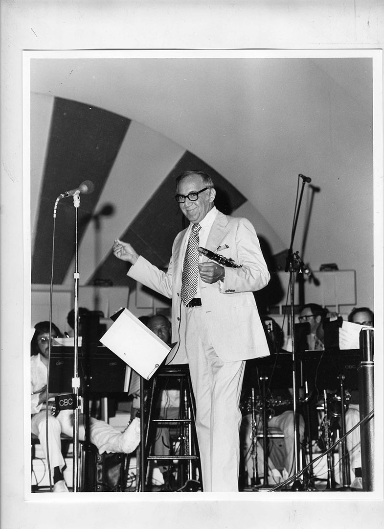 Benny Goodman At The CNE, 1070's
