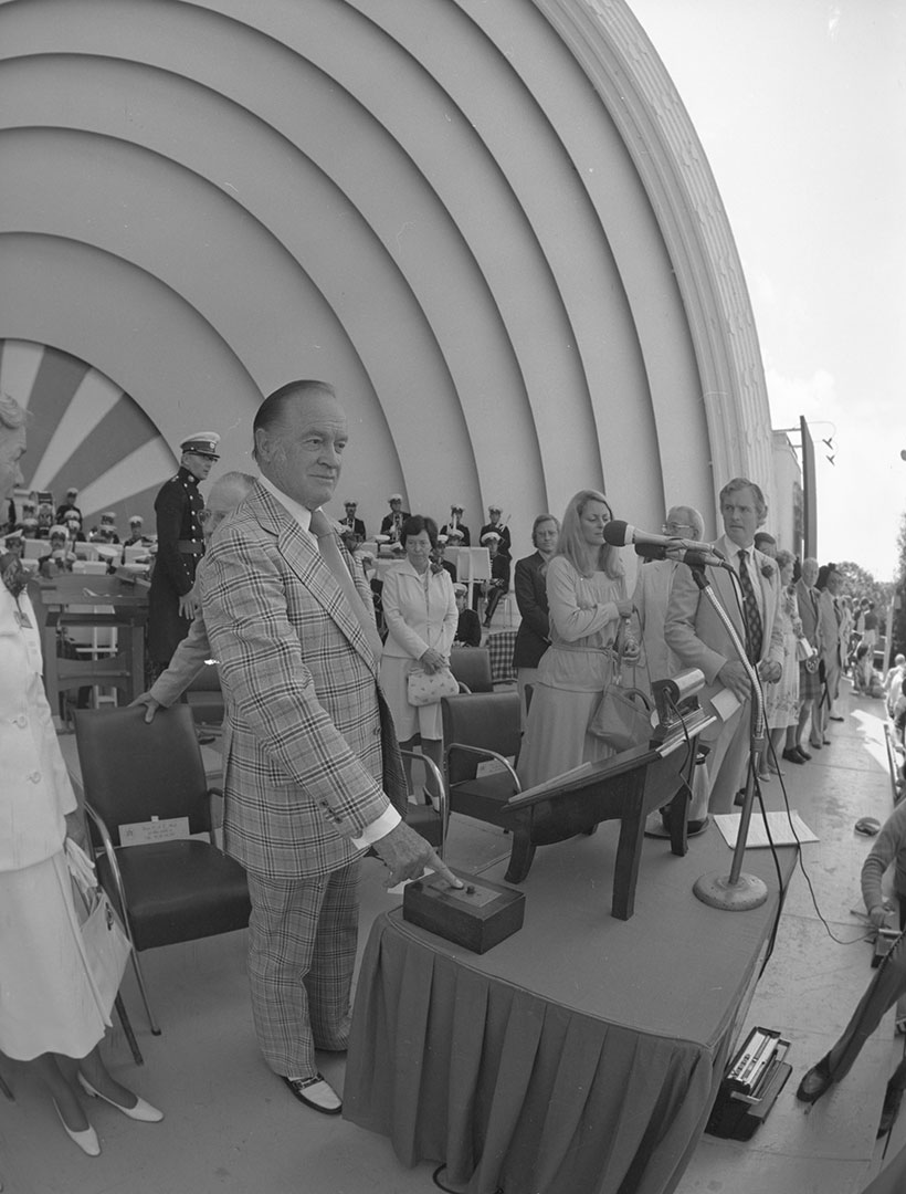 Bob Hope Opening The CNE, 1976