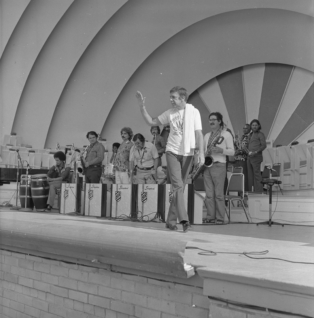 Buddy Rich At The CNE Bandshell, 1974