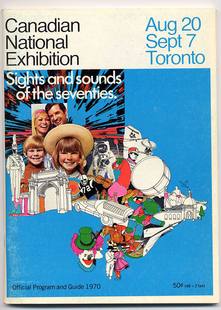 1970 CNE Programme Cover