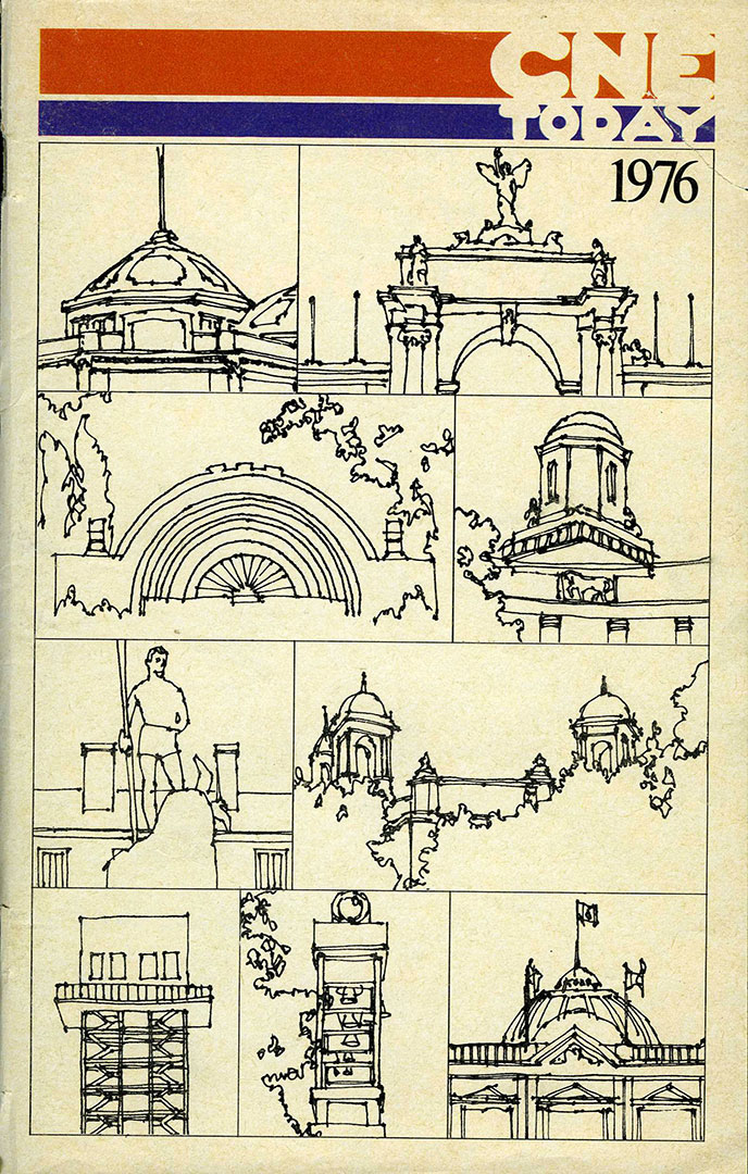 CNE Programme Cover,1976