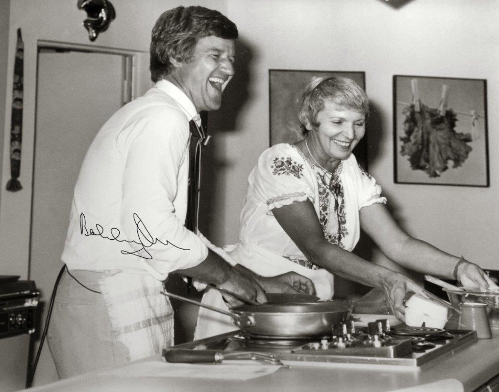 Hockey Star Bobby Orr Helping Out In The A and P Kitchen, 1980