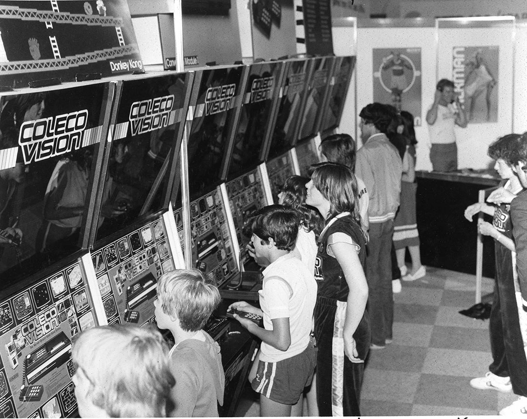 Coleco Exhibit In The 1980s