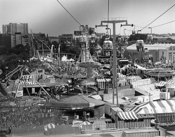 CNE Midway In 1984