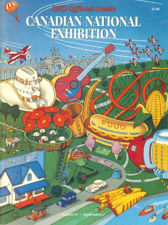CNE Programme Cover, 1985